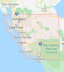 Actions Computer Repair - Serving Southwest Florida - Google Map